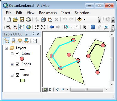 Select features in ArcMap for export to GeoJSON or KML